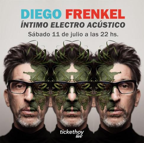 El show de Diego Frenkel transmitido para TicketHoy por veamoslasfotos