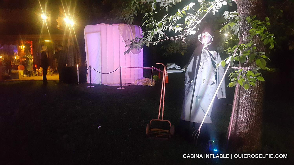 fotocabina inflable halloween