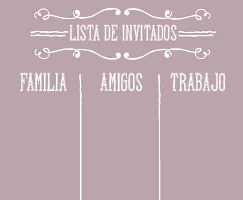 Crear lista de Invitados, Algunos Tips.