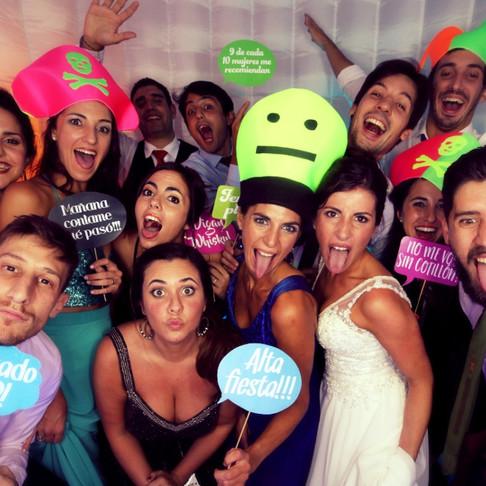La mejor Cabina de Fotos de Buenos Aires se llama #QuieroSelfie