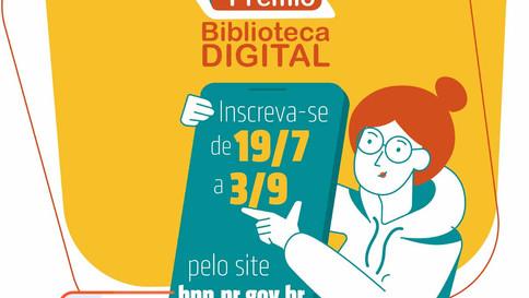 BPP abre inscrições para o Prêmio Biblioteca Digital 2021