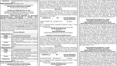 Publicidade Legal | Edital - 10/05/2021