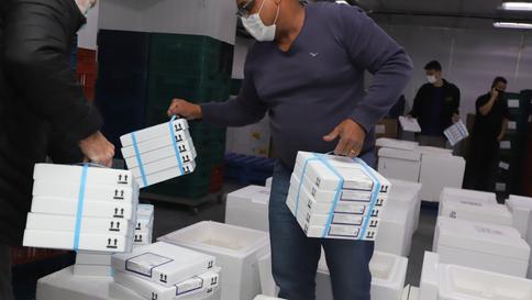 Paraná mais 554,5 mil vacinas contra a Covid-19