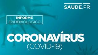 Paraná registra mais 2.366 casos de Covid-19 e 32 óbitos