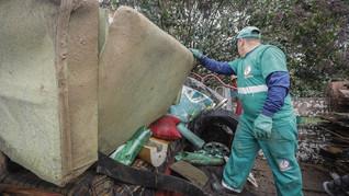 Prefeitura de Araucária realizou mais de 9.500 coletas de materiais volumosos em 2020