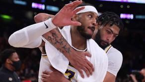 Lakers vencem a primeira na temporada com brilho de Carmelo Anthony