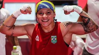 Bia Ferreira vai à disputa do ouro no boxe em Tóquio 2020