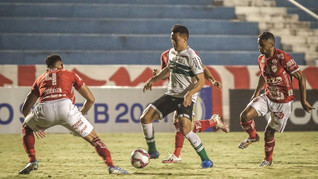 Coritiba derrota o Vila Nova-GO por 1 a 0; assista o gol