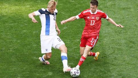 Eurocopa: Rússia vence a Finlândia por 1 a 0