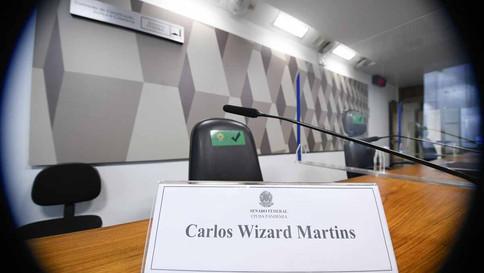 Após Wizard não comparecer, CPI da Pandemia adia depoimentos previstos para esta quinta