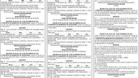 Publicidade Legal   Edital - 20/09/2021