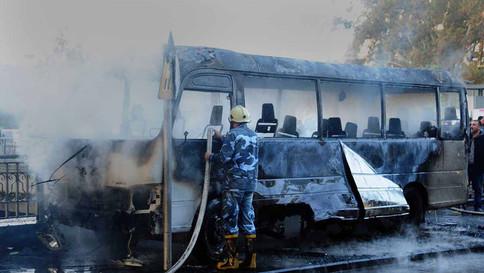 Explosão deixa pelo menos 13 mortos em Damasco