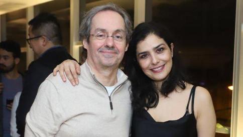 Daniel Dantas se muda para casa de Letícia Sabatella no Rio