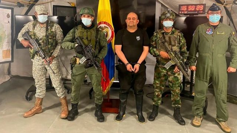 Colômbia prepara extradição aos Estados Unidos do traficante Otoniel