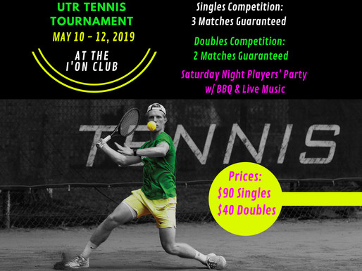 Partnership with Charleston Tennis Circuit!