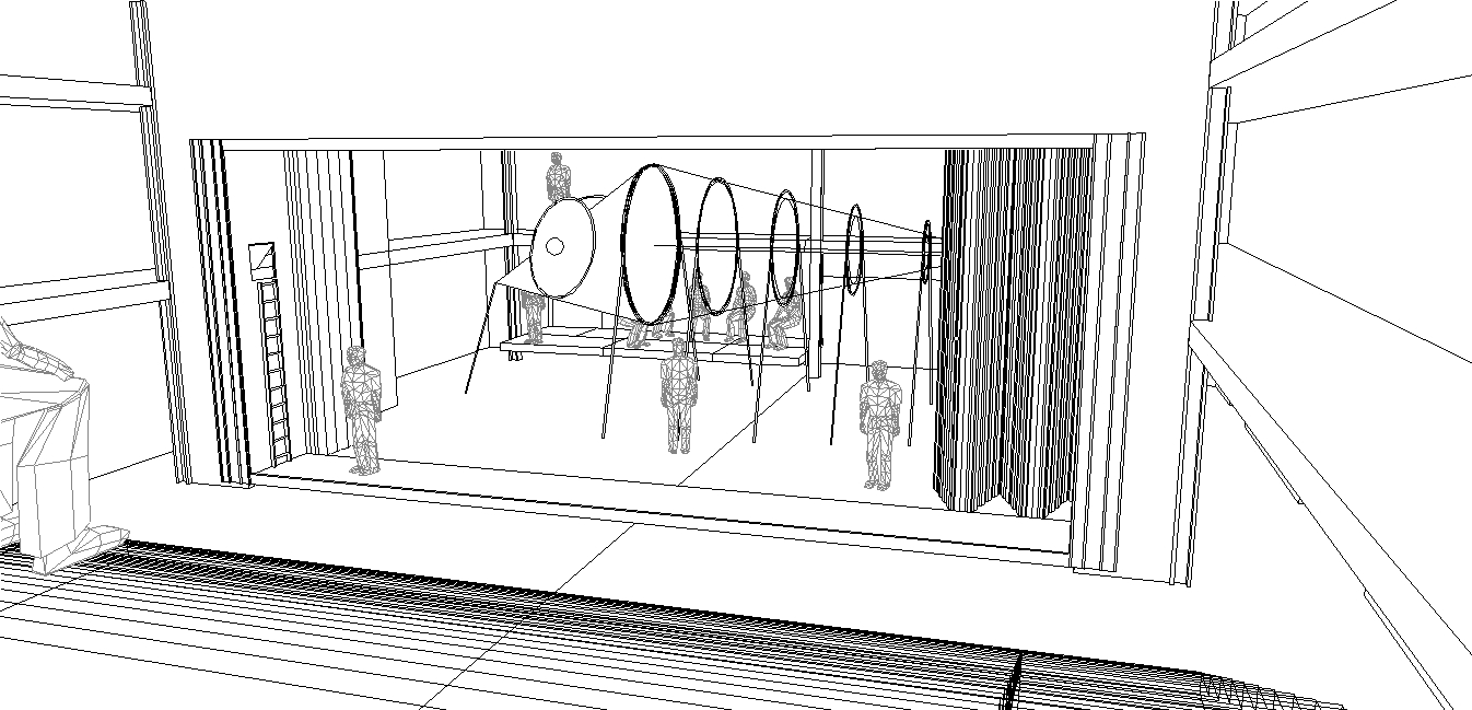 A view of Will's CAD model