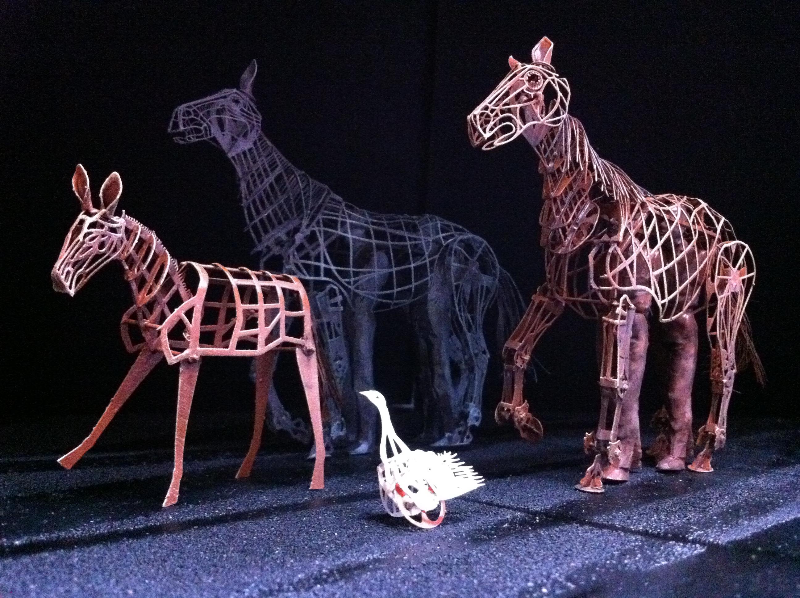 WarHorse scale model horses