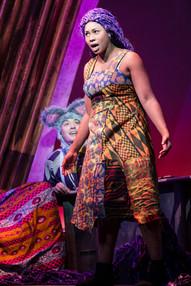 Joanne Sandi as Rapunzel.