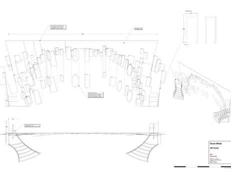 One of Will's design drawings