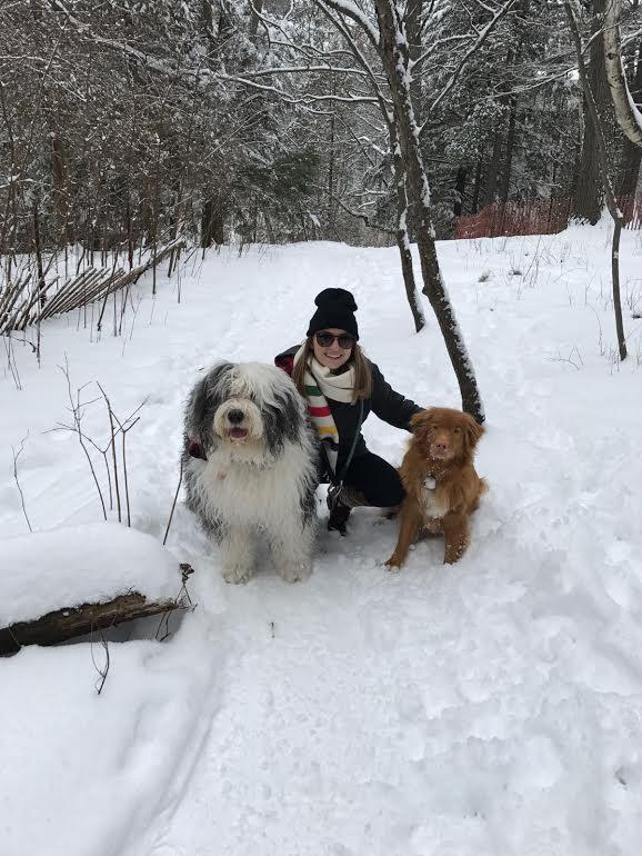 Danielle & dogs