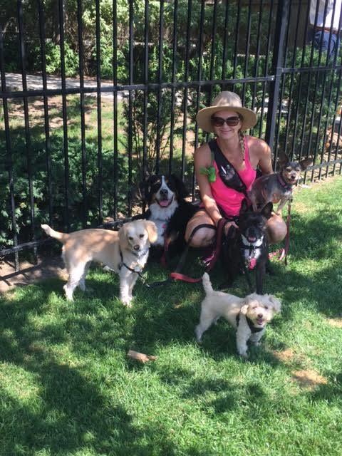 Jenna & dogs #2