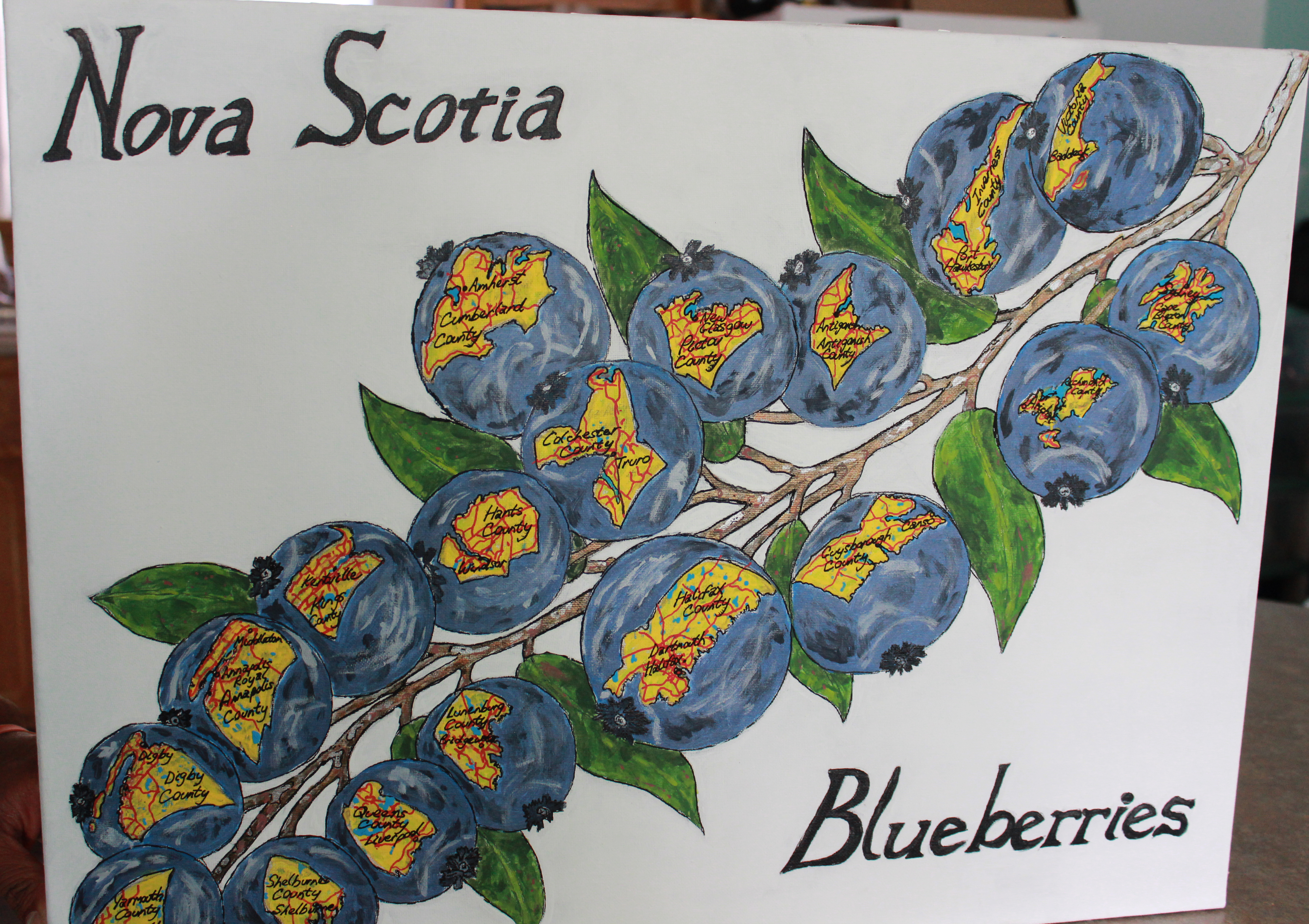 Nova Scotia Blueberries