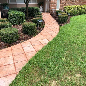 This tile walkway is no longer slippery