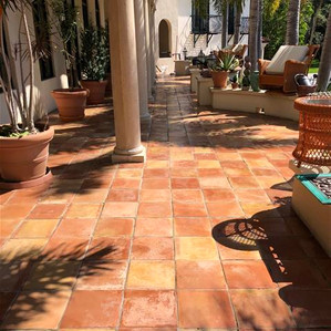 Mexican - Satilla tile is no longer slip
