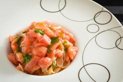 完熟トマトの冷製カッペリーニ