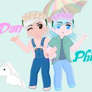 pastel dan and phil done