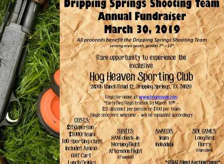 DS Shooting Team Clay Shooting Tourney - 03/30/2019