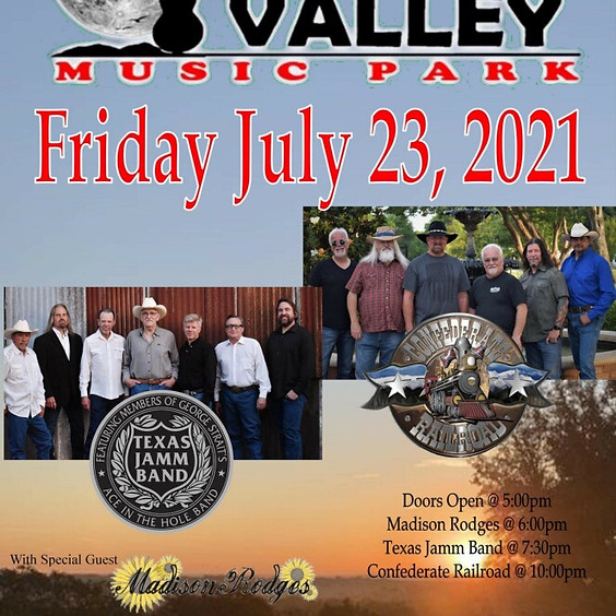 Texas Jamm Band and Confederate Railroad