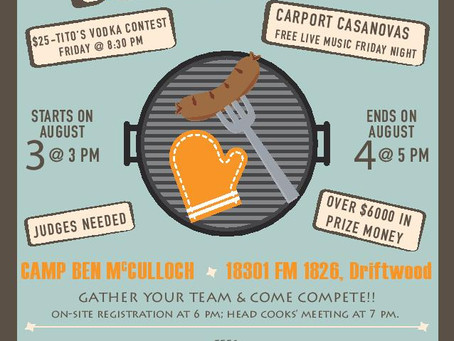 BBQ - Aug 3 & 4 ... BE THERE