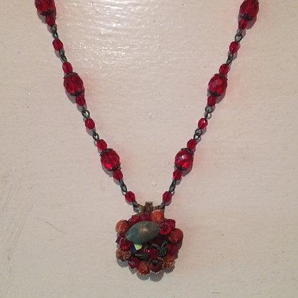 Light Garnet Necklace