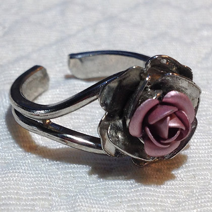 Mauve Rose Ring