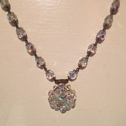 Crystal Chunky Necklace