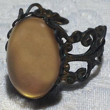 Golden Bronze Ring