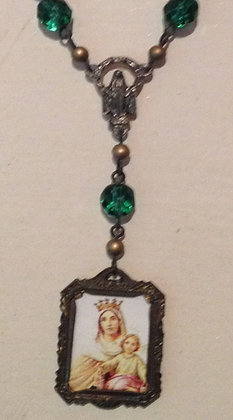 Virgen Del Carmen Prayer Beads