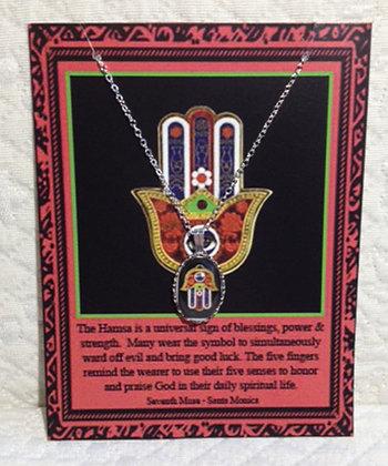 Hamsa Chain Necklace