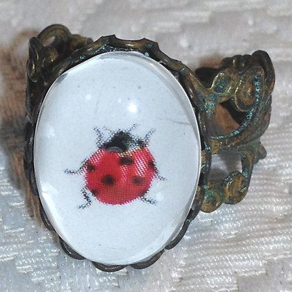 Lady Bug Ring