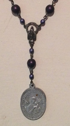 Vintage Medallion Prayer Beads