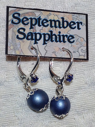 September Birthstone Earring