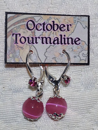 October Birthstone Earring