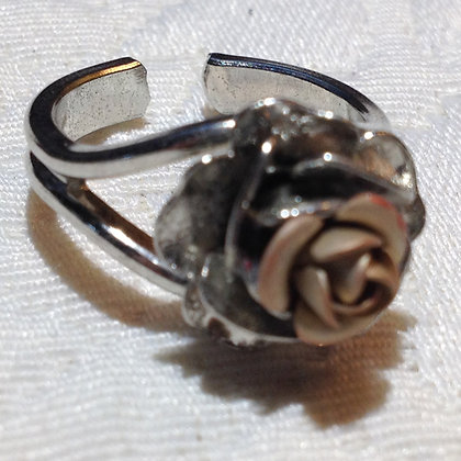 Gold Rose Ring