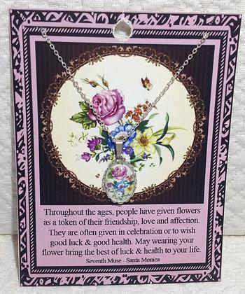 Bouquet Chain Necklace
