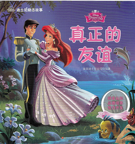 Chinese Story Book - Disney Princess Stories 真正的友谊