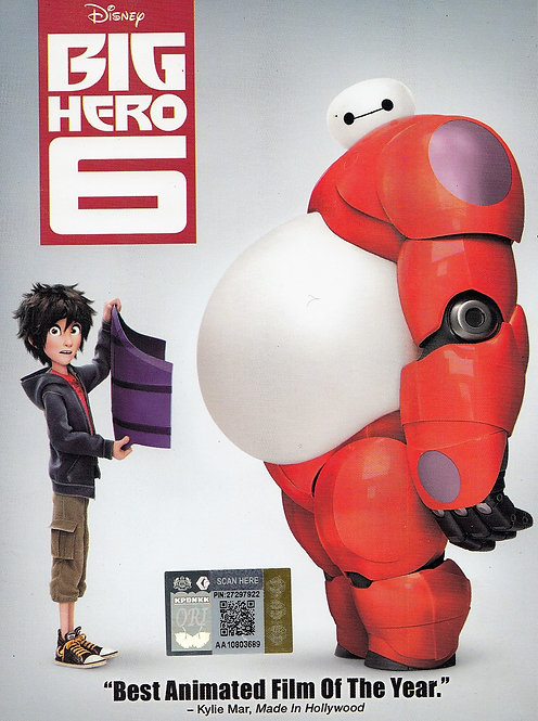DVD: Big Hero 6 大英雄联盟