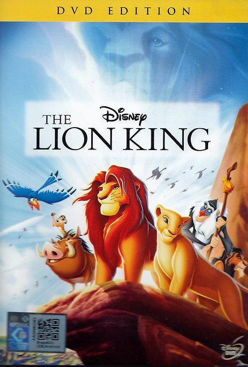 DVD: The Lion King 狮子王