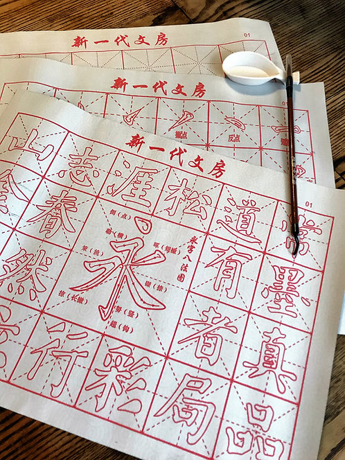 Reusable Chinese Calligraphy Magic Mat