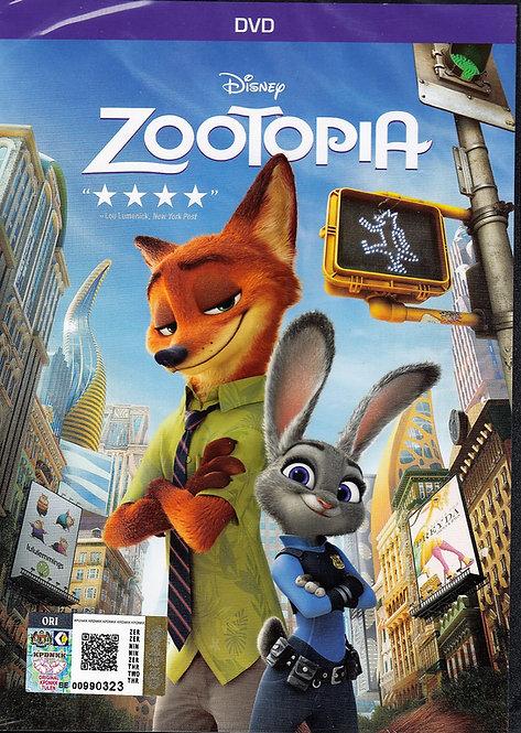 DVD: Zootopia 疯狂动物城